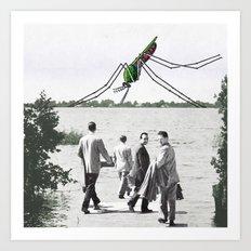 Le moustique Art Print