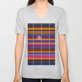 Window Dressing Design Moon & Stars Unisex V-Neck