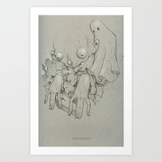 Tiny Coffin Art Print