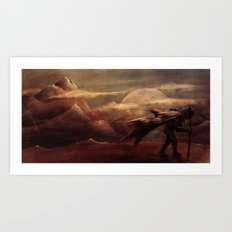 Exploration for Survival Art Print