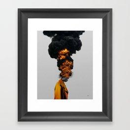 TIME OUT. Framed Art Print