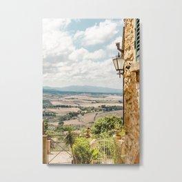 Bella Tuscany, beautiful view Metal Print