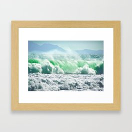 Emerald 2 Framed Art Print