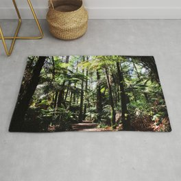 In the forest Rug