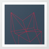 polygon Art Prints featuring Polygon by Rubraga
