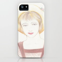 picnic girl iPhone Case