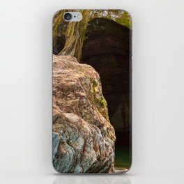 Gobble Rock Cave iPhone Skin