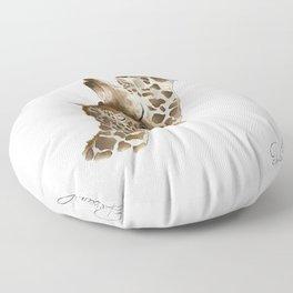 Jiraffe Love Floor Pillow