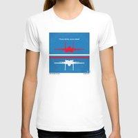 top gun T-shirts featuring No128 My TOP GUN minimal movie poster by Chungkong
