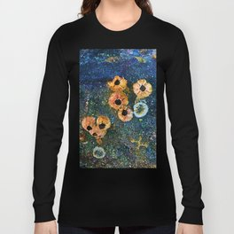 Abstract beautiful barnacles Long Sleeve T-shirt