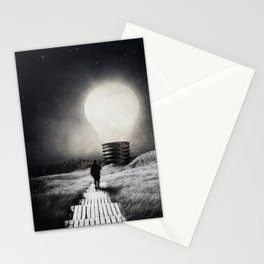 Follow the light ... Stationery Cards
