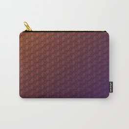 Gradient cube pattern Carry-All Pouch