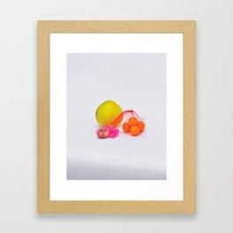 Round,2018 Framed Art Print