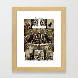 Rude Awakening Framed Art Print