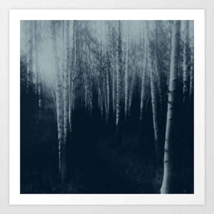 deep veins II Art Print