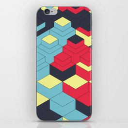 Two Sides A + B iPhone Skin
