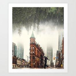 The Gooderham Forest Art Print