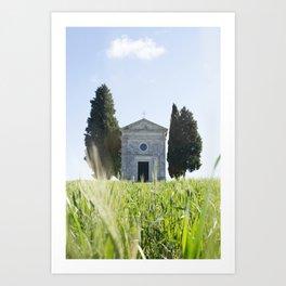 Vitaleta Chapel Art Print