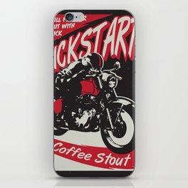 Kickstart Coffee Stout iPhone Skin