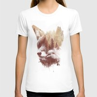 country T-shirts featuring Blind fox by Robert Farkas