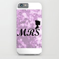 Mrs Wendy - Watercolor and Splatter Slim Case iPhone 6s