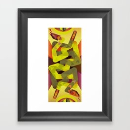 Rattlesnakes Framed Art Print