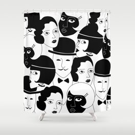 20s Glam Shower Curtain