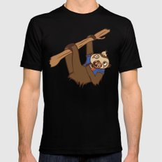 Sloth Mens Fitted Tee Black MEDIUM