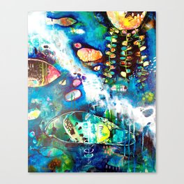 Let us Look for Secret Things Canvas Print