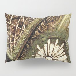 Earth . Flower . Strings Pillow Sham