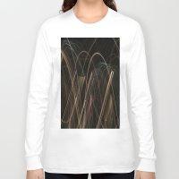 fireworks Long Sleeve T-shirts featuring Fireworks by ShonaLLambert