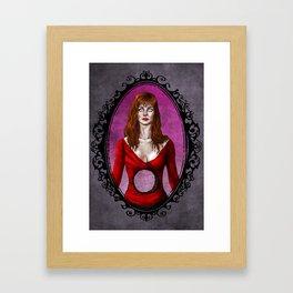 Halloween Heroines: Helen Sharp Framed Art Print