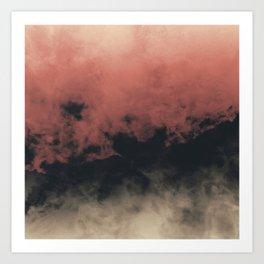 Zero Visibility Dust Art Print