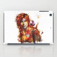 lara croft iPad Cases featuring Lara Croft by ururuty