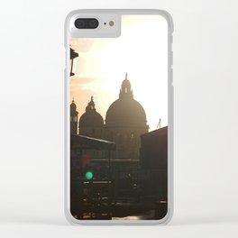Venice 2 Clear iPhone Case