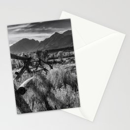 Buck and Rail to the Tetons Stationery Cards