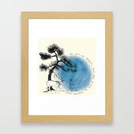 MY SOUL IS FROM ELSEWHERE Framed Art Print
