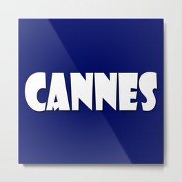 Cannes! Metal Print