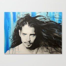 'Track 12' Canvas Print