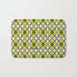 Green X O Bath Mat