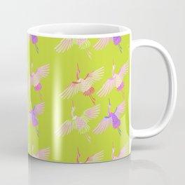 Cranes embrodery Coffee Mug