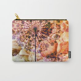 dandelion in warm tones Carry-All Pouch