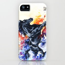 """""""He appears""""  iPhone Case"""