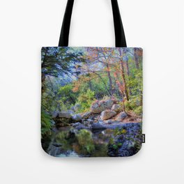 Lost Maples State Park Tote Bag