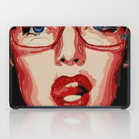 the office iPad Cases featuring Office style by AsyaCreativeArt