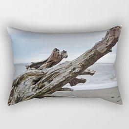 Natural Driftwood Rectangular Pillow