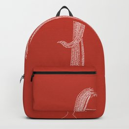 The girl with the dreadlocks Backpack