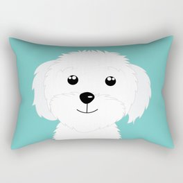 It is a puppy - National Puppy Day Rectangular Pillow