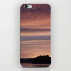 Frozen Sunset 4 - Pale Light iPhone & iPod Skin