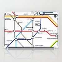 fandom iPad Cases featuring Fandom Underground by Raccoon Illustrations